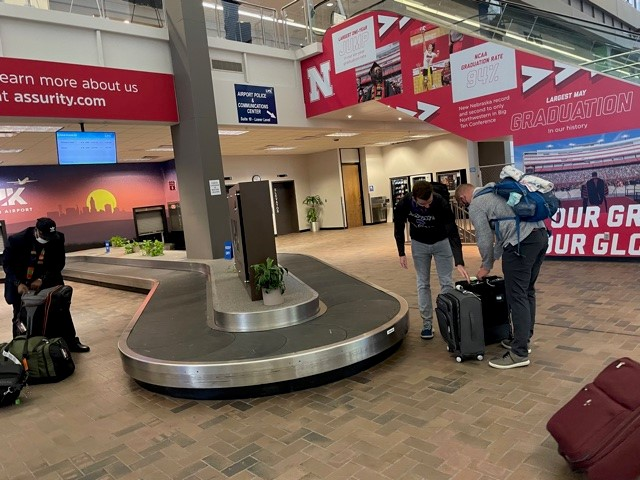 baggage claim relocation
